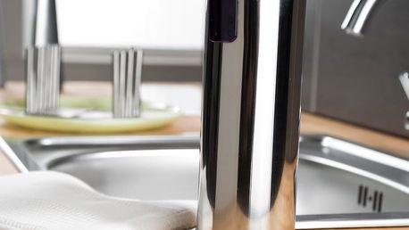 Dávkovač mýdla bez nutnosti vrtání Compactor Soap Steel