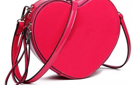 Dámská tmavě růžová kabelka Charlotte 6703