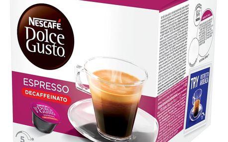 NESCAFÉ DOLCE GUSTO Espresso bez kofeinu 16 ks