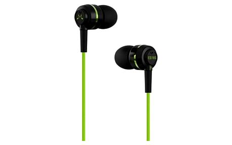 SoundMAGIC ES18S, černá/zelená