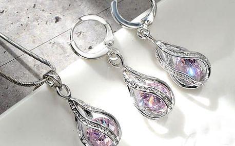 Sada šperků ve tvaru kapek
