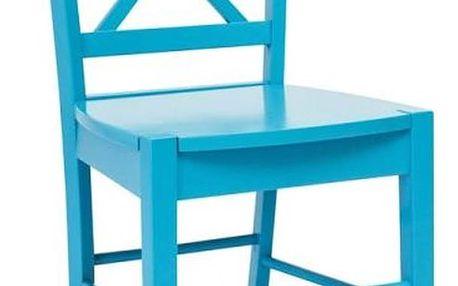 Modrá židle Signal Rachel