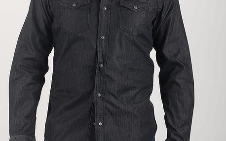 Košile Diesel NEW-SONORA CAMICIA Černá