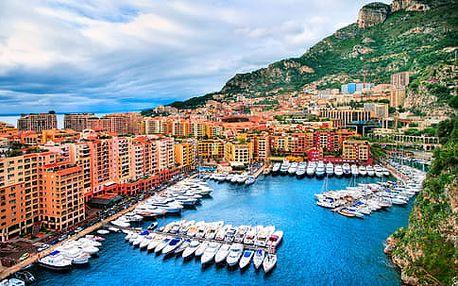 4denní poznávací zájezd | Monako a Nice pro dvě osoby