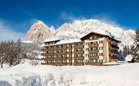 Itálie - Cortina d´Ampezzo na 6 až 8 dní, polopenze s dopravou vlastní