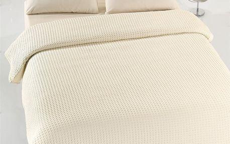 Přehoz přes postel Asir Caleidoscope Cream, 200x240 cm, krémový