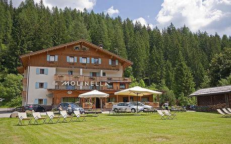 Itálie - Tre Valli na 8 dní, polopenze s dopravou vlastní