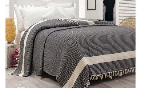 Bavlněný přehoz přes postel Hasir,200x240cm