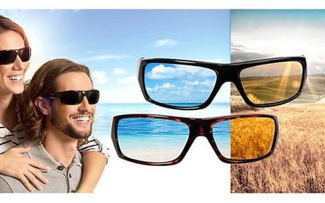 Sluneční brýle Polyryte HD 1+1 zdarma