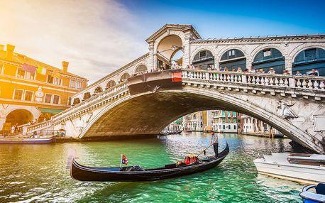 Romantické Benátky a Verona pro dva | 4denní poznávací zájezd do Itálie