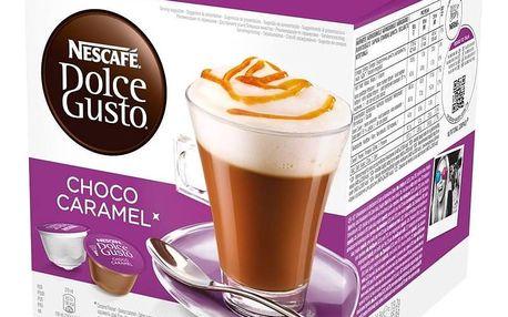 Kávové kapsle NESCAFÉ DOLCE GUSTO Choco Caramel 8 + 8 ks