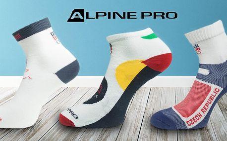 Sportovní ponožky pro celou rodinu od značky Alpine Pro