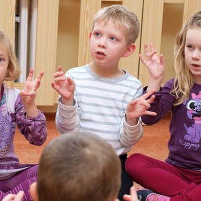 Angličtina pro děti 4 - 6 let, úterý 17:15-18