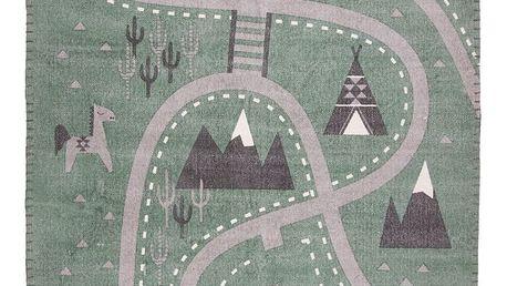 Dětský koberec Nattiot Little Western, 100x140cm