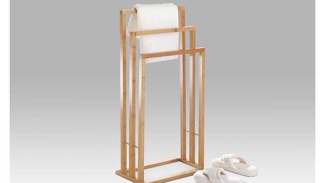 Stojan na ručníky bambusový DR-039 Autronic
