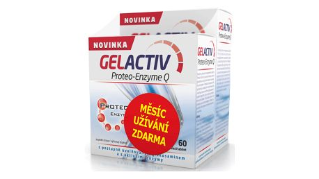 GELACTIV Proteo-Enzyme Q 120+60 tablet ZDARMA