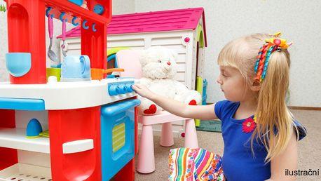 Velké dětské kuchyňky a obchůdky s vybavením
