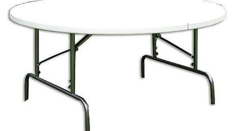 Garthen 6003 Skládací zahradní stůl - kulatý