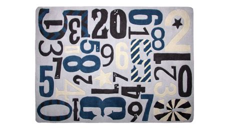 Dětský koberec Nattiot Imprenta, 130x180cm