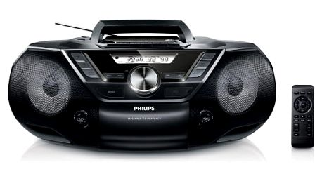 Radiomagnetofon s CD Philips AZ787 (AZ787/12)