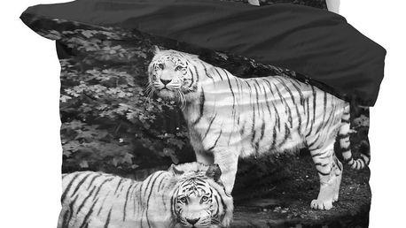 Povlečení z mikroperkálu na dvoulůžko Sleeptime Tigers,200x220cm