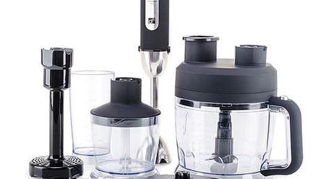 Ponorný mixér G21 VitalStick Pro Black s Food Processorem černý
