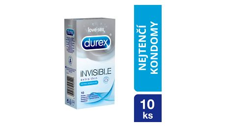 DUREX Invisible Extra Sensitive kondomy (10 ks)
