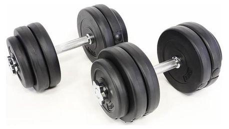 Garthen Profi 11 jednoruční činky 2 x 15 kg