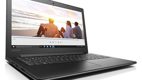 Notebook Lenovo 310-15IKB (80TV00A7CK) černý Software Microsoft Office 365 pro jednotlivce CZ + Software F-Secure SAFE, 3 zařízení / 6 měsíců + Monitorovací software Pinya Guard - licence na 6 měsíců v hodnotě 2 278 Kč + DOPRAVA ZDARMA