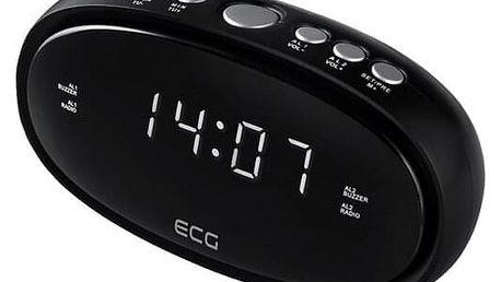 ECG RB 010 Digitální radiobudík, černá