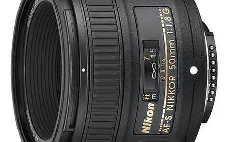 Objektiv Nikon NIKKOR 50MM F1.8G AF-S černý