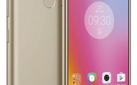 Mobilní telefon Lenovo K6 Power Dual SIM (PA5E0059CZ) zlatý Software F-Secure SAFE, 3 zařízení / 6 měsíců v hodnotě 979 Kč + DOPRAVA ZDARMA