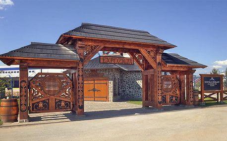 Návštěva parku Nestville včetně bohatého programu v penzionu Eland na Slovensku