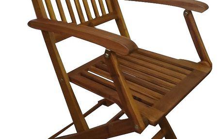 Texim Carolina akáciová skládací židle