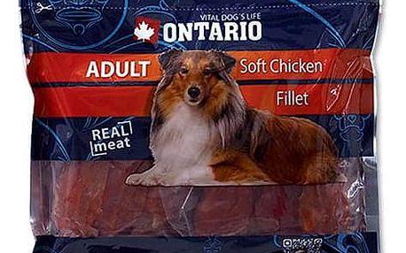 Ontario SnackAdult Soft Chicken jerky 500g