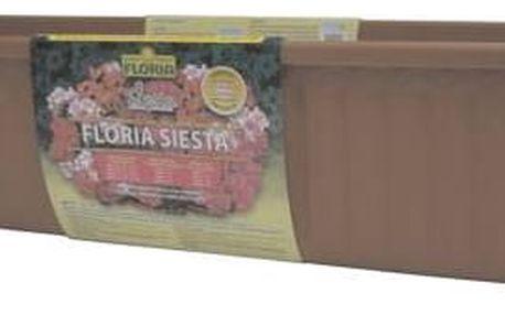 Agro Truhlík FLORIA SIESTA 80 cm - Terakota, samozavlažovací