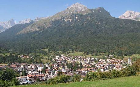 Itálie - Paganella na 6 až 8 dní, polopenze s dopravou vlastní