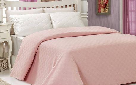 Přehoz přes postel Pique Powder, 200x240cm