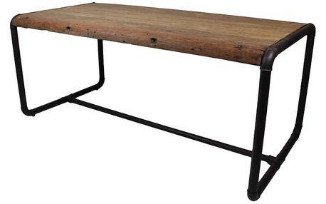 Jídelní stůl s deskou z akáciového dřeva HSM collection SoHo, 100x250cm