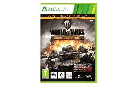 Microsoft Xbox 360 World of Tanks Combat ready starter pack (4ZP-00020)