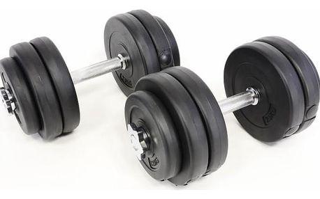 Garthen 11 Profi jednoruční činky 2 x 15 kg