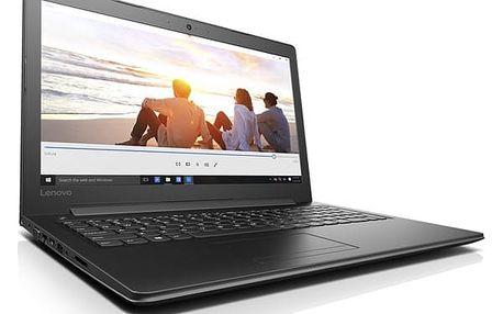Notebook Lenovo IdeaPad 310-15IKB černý + dárky (80TV00A7CK)