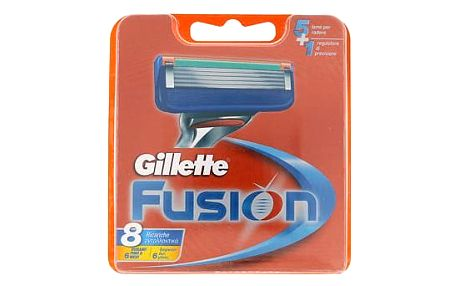 Gillette Fusion 8 ks náhradní břit M