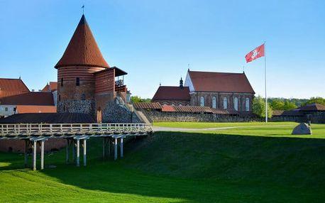 6denní zájezd pro 1 s ubytováním do Pobaltí s návštěvou Rigy, Vilniusu i Kaunasu