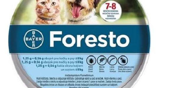 Obojek Bayer Foresto 38 cm pro kočky a malé psy Světýlko Bayer Foresto kost zelené (zdarma) + Doprava zdarma