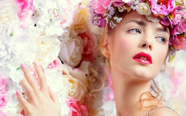 Kosmetické ošetření 100% přírodními produkty
