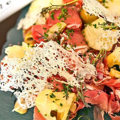 5 chodů plných delikates v restaurantu Renomé