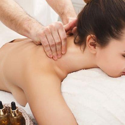 30–60minutová masáž zad i nohou ve studiu Danica Jacinová v Praze