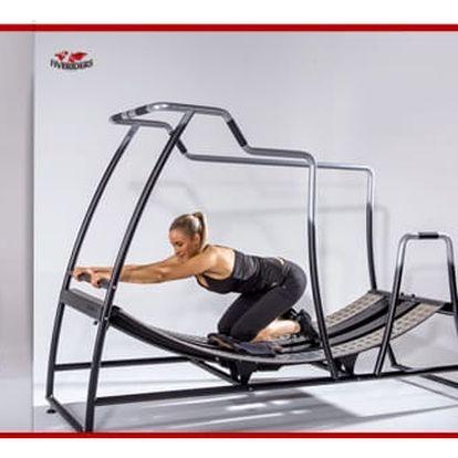 Zábavné cvičení s vlastní váhou na stroji Fiveriders na 45 min.