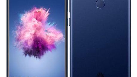 Mobilní telefon Huawei P smart Dual SIM (SP-PSMDSLOM) modrý SIM karta T-Mobile 200Kč Twist Online Internet v hodnotě 200 Kč
